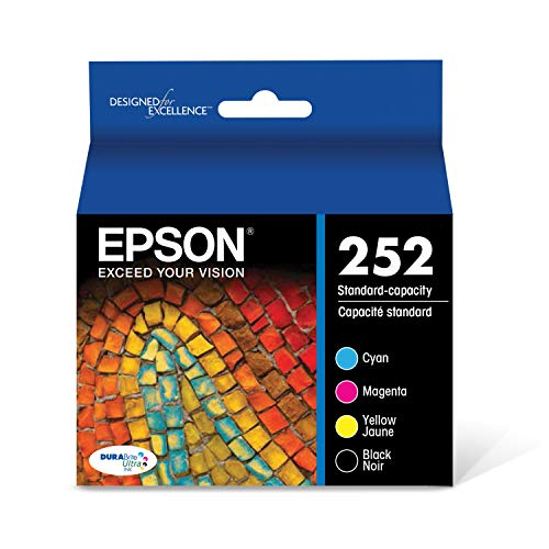 Epson T252120-BCS - Ink Cartridge - Black and Color Combo Pack - DURABrite Ultra Standard Capacity - Prime Eligible