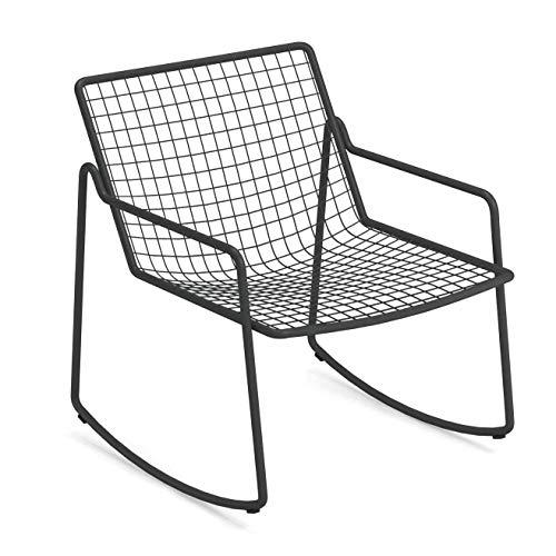 emu Rio R50 Lounge schommelstoel, antiek ijzer gelakt BxHxD 67x77x72cm