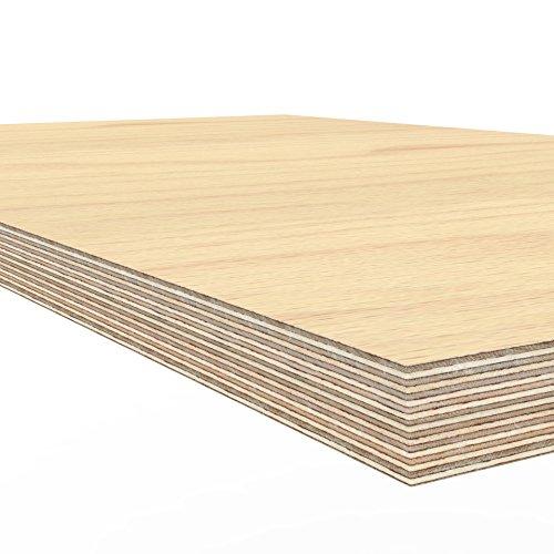 Profi Multiplexplatte 1250 x 600 x 40 mm Werkbankplatte Arbeitsplatte (von 125cm – 200cm lieferbar Variante wählen) - 5