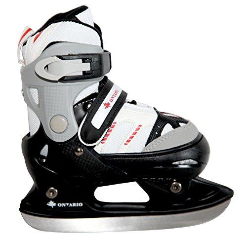 Ontario Kinder Schlittschuhe Boy 800 verstellbar Größe 31-34 Ice Skates