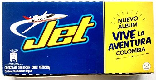 Jet Milk Chocolate - 24 units box