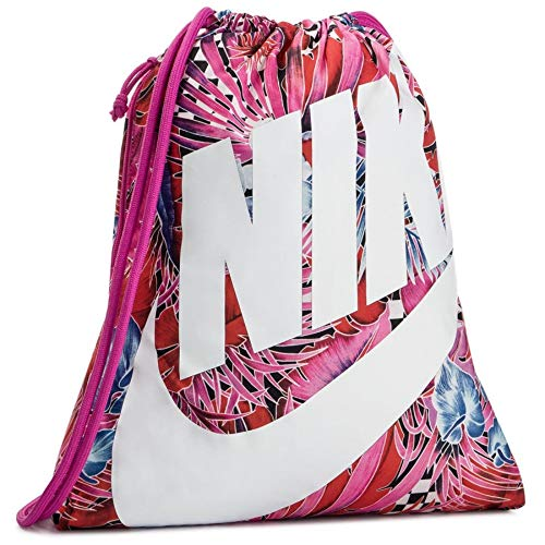 Nike Heritage Gym Sack (One Size, Sport Fuchsia/True Berry)