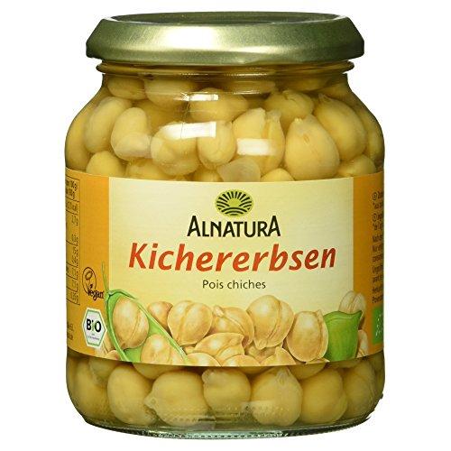 Alnatura Bio Kichererbsen, vegan, 6er Pack (6 x 350 g)