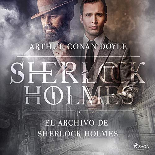 Diseño de la portada del título El archivo de Sherlock Holmes
