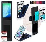 Hülle für TP Link Neffos Y50 Tasche Cover Case Bumper | Blau | Testsieger