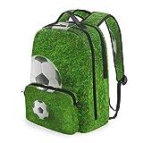 Mochila con bolsa cruzada desmontable, juego de futbolín, mochila para ordenador de fútbol, bolsa para viajes, senderismo, acampada