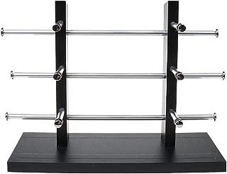 SM SunniMix Profesional Estante de Mostrar Porta de Gafas Soporte de Tienda/Hogar/Escaparate - 3-Layer
