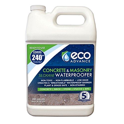 Eco Advance Concrete/Masonry Siloxane Waterproofer - 1 Gallon