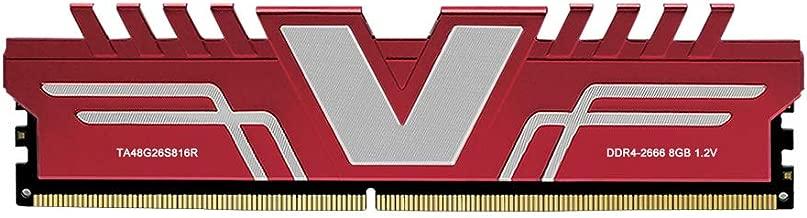 V-Color Skywalker Series 8GB (1 x 8GB) DDR4 2666MHz (PC4-21300) CL16 1.2V Desktop Memory Model RED (TA48G26S816R)