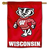 College Flags & Banners Co. University of Wisconsin Badgers House Flag