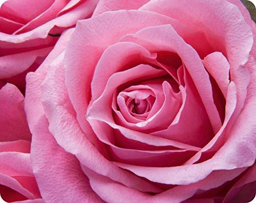 ROSA Rose Mauspad / Mousepad (Motiv 138) Qualitäts-Mauspad 24 x 19 cm aus extrem reissfestem Spezialkautschuk mit stark haftender Unterseite für optimalen Halt von Edition Colibri