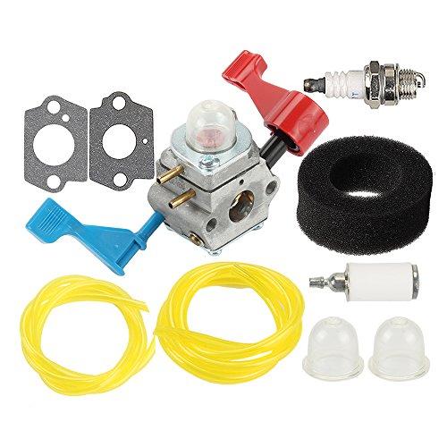 Harbot C1U-W12A Carburetor with Tune Up Kit for Poulan FL1500 FL1500LE 952711486 Craftsman Gas Leaf Blower 530071629 C1U-W12B