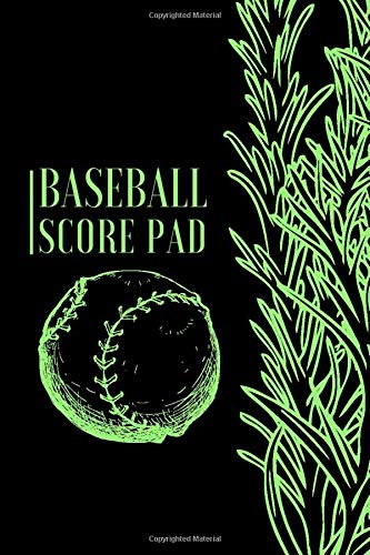 Baseball Score Pad: Professional Baseball Scoring Sheet, Score Sheet Notebook for Outdoor Games, Gifts for Game Records, Game lovers, Friends and ... with 110 Pages. (Baseball Scorebook, Band 14)