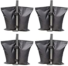 ABCCANOPY Industrial Grade Weights Bag Leg Weights for Pop up Canopy Tent 4pcs-Pack