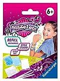 Ravensburger Blazelets Nachfüllset Refill 2, Mehr Material um kreative Glitzer-Armbänder selber zu machen, Bastelset für Mädchen ab 6 Jahren