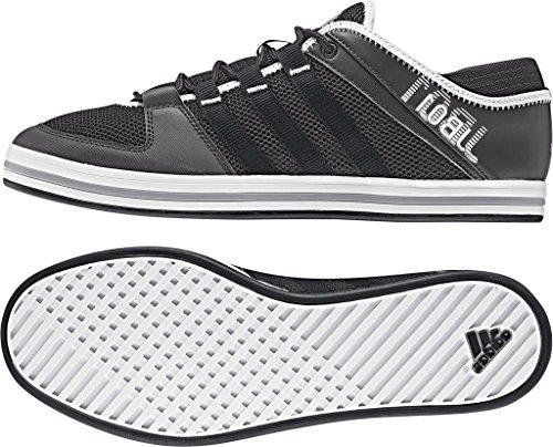 Adidas sailing Deckschuh jb01 Bootsschuh, Größe:42 2/3, Farbe:Sharp Grey/Solid Grey/Aluminium