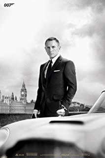 Pyramid America James Bond Skyfall DB5 Movie Cool Wall Decor Art Print Poster 24x36 inch
