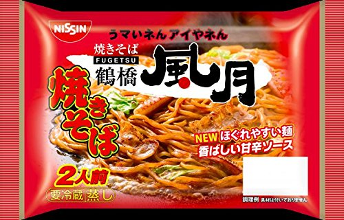 日清食品 鶴橋風月焼きそばソース 340gx12【冷蔵商品】