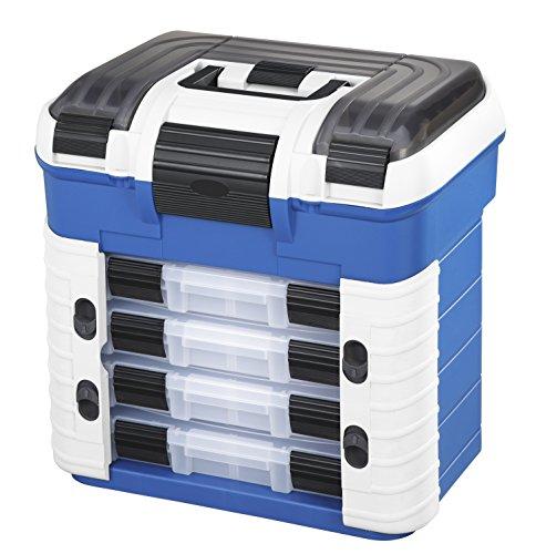 Plastica Panaro Cassetta Pesca 502, per Trasportare, Proteggere e Organizzare l'Attrezzatura, Blu,...