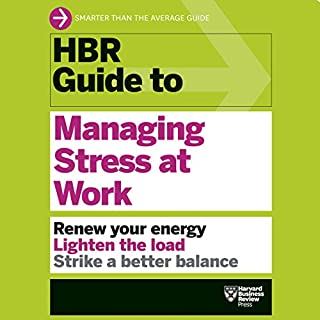HBR Guide to Managing Stress at Work cover art