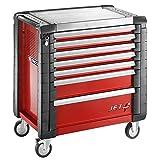 Servante JETM4 - 7 tiroirs rouge - Facom