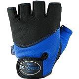 C.P. Sports® Iron Guanto di comfort Royalblau Fitness Guanto, Guanti da fitness, guanti da allenamento, S
