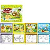 Metermall Spielzeug Zum Kinder Zeichnung Buch Kinder Graffiti Wasser Malerei Album Wiederverwendbare Für Jungen Mädchen Vorschule Lernspielzeug 999-2