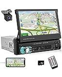 UNITOPSCI Car Radio Single Din In Dash GPS Navigation...