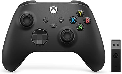 Manette Xbox avec adaptateur sans fil Windows 10 (Xbox Series)