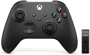 Xbox Series X/S/Xbox one Draadloze Controller + Wireless Adapter for Windows - Carbon Black (Xbox Series X/)