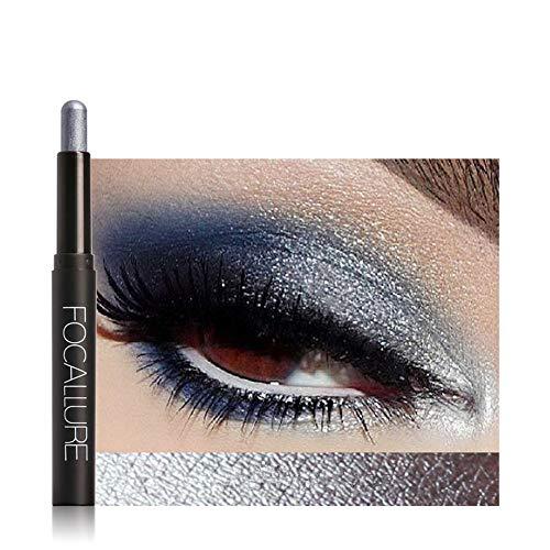 MORETIME sombra de ojos cosmética Shimmer Crema de Maquillaje con Color Cálido y Frío Beauty Pro Highlighter Eyeshadow Pencil Cosmetic Glitter Sombra de ojos