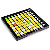 MTSBW Launchpad Mini MK2 Compact USB Grid Controller para Ableton Live con Auriculares