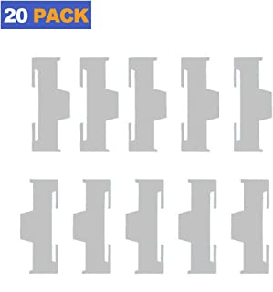 Servo Extension Cable Safety Connector Clips Wire Lead Lock Nylon for RC Models 20 Pack