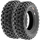 SunF A017 21x7-10 ATV/UTV XC-Sport Tires, 6-PR (Set Pair of 2)