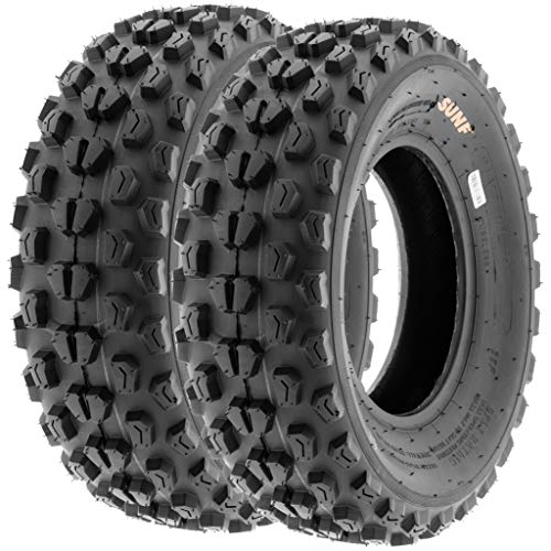 SunF A017 21x7-10 ATV/UTV XC-Sport Tires, 6-PR (Set Pair of 2)