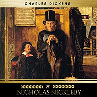 Nicholas Nickleby audiobook cover art