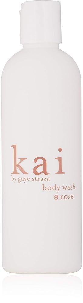 先生レオナルドダ台無しにkai fragrance body wash *rose (カイフレグランス ボディウォッシュ ローズ)
