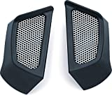 Kuryakyn 5625 Motorcycle Accent Accessory: Tank Side Scoops for 2015-19 Indian Scout Motorcycles, Satin Black, 1 Pair