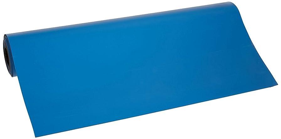 抽選道路を作るプロセス異常Bertech ESD 2つレイヤーゴムマットロール、厚さ0.06?CM、ブルー 3' Wide x 20' Long x 0.06