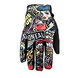 O'NEAL   Fahrrad- & Motocross-Handschuhe   Kinder   MX MTB DH FR Downhill Freeride   Langlebige, Flexible Materialien, belüftete Handoberseite   Matrix Youth Glove Crank   Schwarz   Größe M