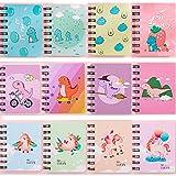 Czemo Libreta Pequeña de Bolsillo Cuaderno Pequeño Regalos Cumpleaños Niños Colegio, Pack de 12 (#2)