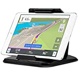 3 in 1 GPS Mount & Tablet Mount & Cell Phone Holder LUXMO Universal Car Sticky Non-Slip Dashboard Holder for 5-7 inch Garmin Tomtom Navigator, 7-9.6 inch iPad Mini Samsung Tablet PC and Smartphones