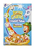 Lucky Charms Frosted Flakes, Marshmallow Cereal, Whole Grain, Unicorns, 13.8 oz