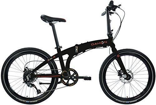 Dahon iOS D9 Vélo Pliable Mixte Adulte, Obsidian, Taille 24