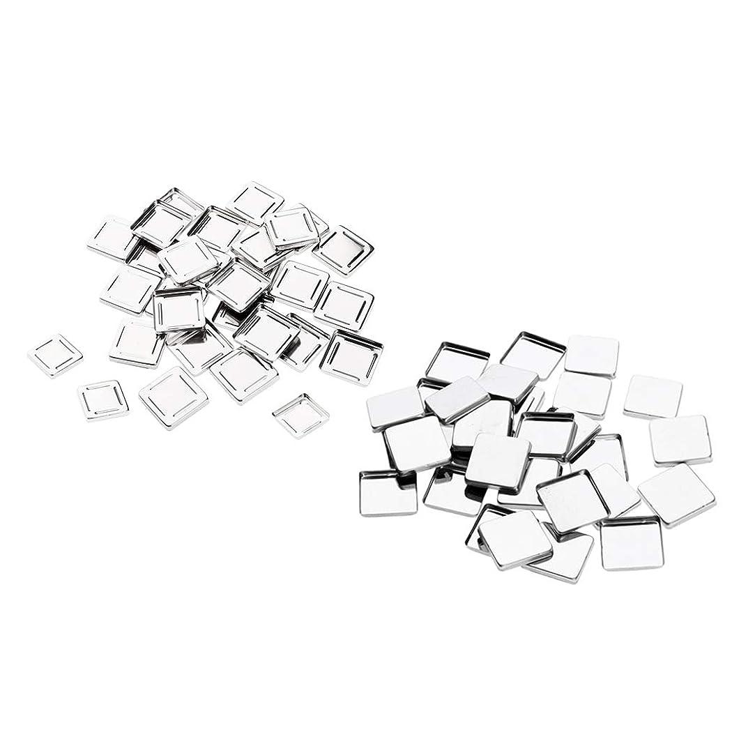 DYNWAVE メイクアップパン 空パン アイシャドー ブラッシュ メイクアップ 磁気パレットボックスケース60個入