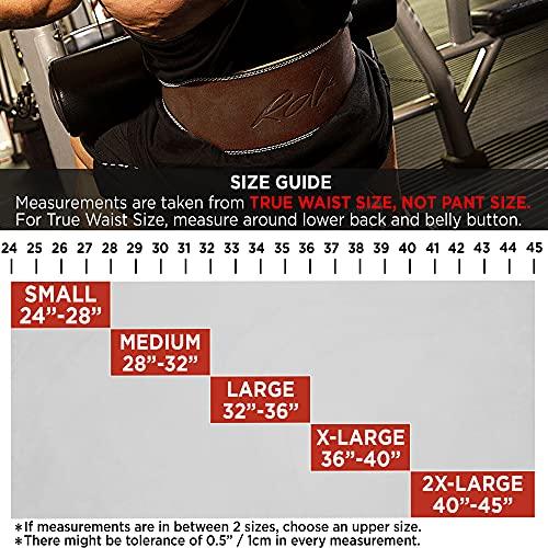RDX Leder Gym Training Gewichthebergürtel Fitness 6″ Gürtel Dreikampfgürtel 2XL - 6