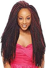 "Janet Collection 2X Mambo Tantalizing Twist Brd 18"" Burg"