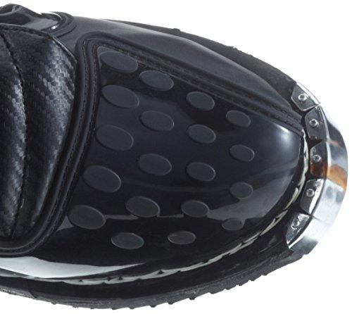 Protectwear Crossstiefel, Endurostiefel Racing aus Leder mit Kunsstoffschnallen, Schwarz, 41 - 4