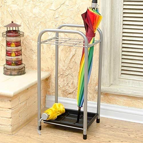 QI-shanping Paragüero - Calidad Home Hotel Vestíbulo Paraguas Rack de Almacenamiento en Rack Estante Colgante Simple del Paraguas Tubo de la Puerta, for Ministerio del Interior