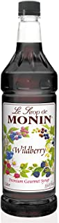 Monin Wildberry Flavor Syrup 1 Liter